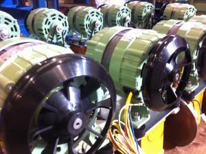 montaje de maquinaria - componentes electricos